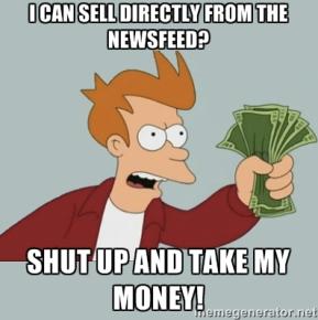 meme generator Fry social commerce